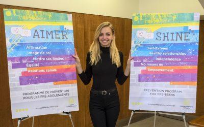 Ludivine Reding, Youth Ambassador for the Prevention Programs